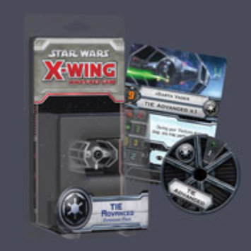Fantasy Flight Games X-Wing TIE Advanced Expansion Pack
