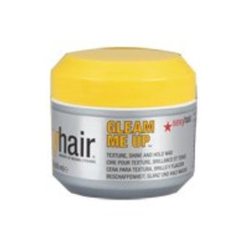 Sexy Hair Concepts Short Sexy Hair Gleam Me Up Wax By Sexy Hair for Unisex, Wax, 1.8 Ounce