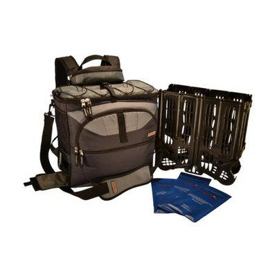 TrackPack Coolers LLC TrackPack Drink Dispensing Backpack Cooler - Navy (14'' x 14'' x 8'')