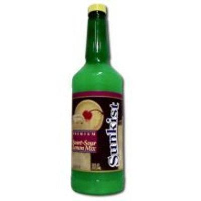 Vitality Foodservice Sunkist Sweet Sour Lemon Mix 12 Bottle 32 Ounce