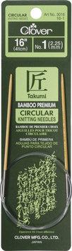 Clover Bamboo Circular Knitting Needles 16