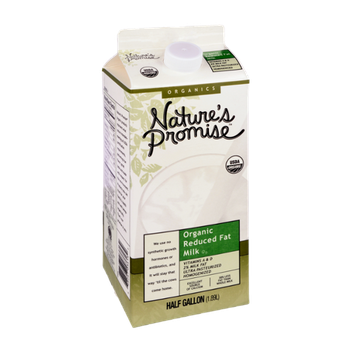 Nature's Promise Organics Organic Reduced Fat Milk
