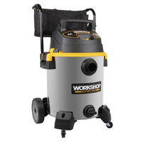 WORKSHOP Wet/Dry Vacs 16 Gallon 6.5 Peak HP Stainless Steel Wet/Dry Vacuum