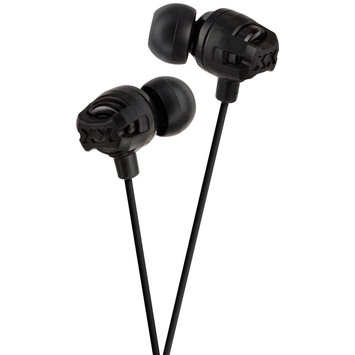 Victor Company Of Japan, Limited JVC Xtreme Xplosive Inner Ear Headphones Black HAFX101B - JVC COMPANY OF AMERICA