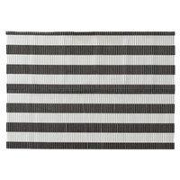 Boots & Barkley Patterned Litter Mat - Black/White Stripe