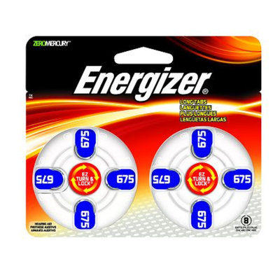 Energizer EZTurn & Lock Hearing Aid Battery