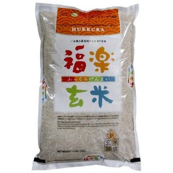 Hukkura Easy-Cooking Premium Koshihikari Brown Rice, 11-Pound Bag