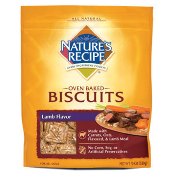 Nature's RecipeA Oven Baked Biscuits Dog Treat