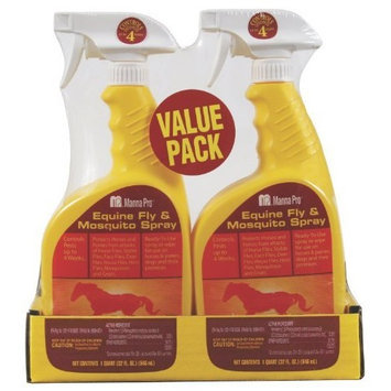 Manna Pro EQUINE FLY & MOSQUITO SPRAY QT TWIN PACK