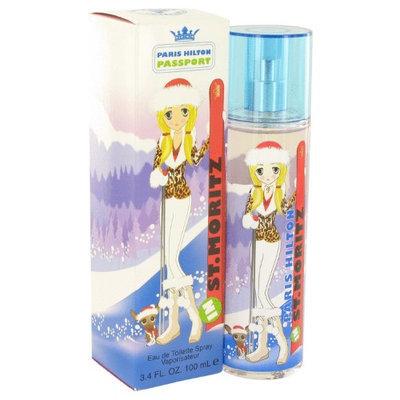 Paris Hilton Passport In St. Moritz by Paris Hilton Eau De Toilette Spray 3.4 oz