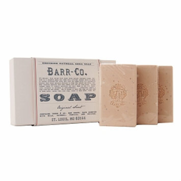 Barr Co Three Piece Oatmeal Shea Soap Gift Set, 3 piece
