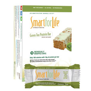 Smart for Life Green Tea Protein Bars