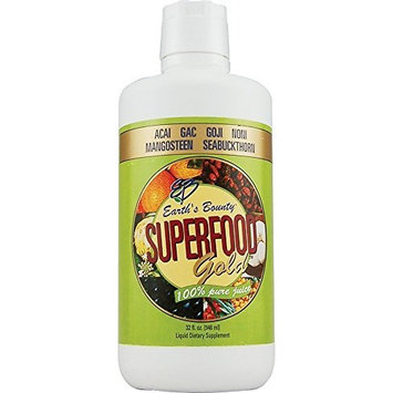 Earth's Bounty Superfood Gold Juice -- 32 fl oz