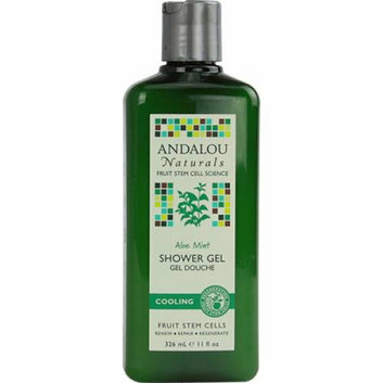 Andalou Naturals Shower Gel Aloe Mint Cooling 11 fl oz