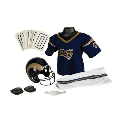 Franklin Sports NFL Rams Deluxe Uniform Set - Small