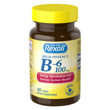 Rexall Vitamin B6 100 mg - Tablets, 100 ct