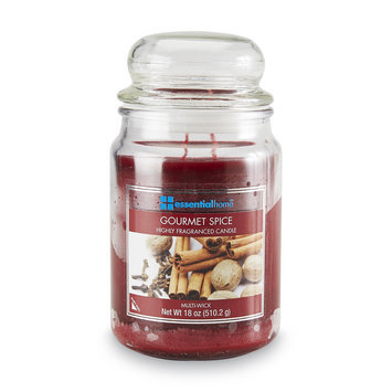 Essential Home 18 Ounce Jar Candle Gourmet Spice - LANGLEY PRODUCTS L.L.C.