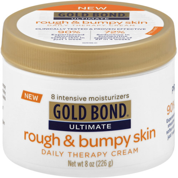 Gold Bond Ultimate Rough & Bumpy Skin Daily Therapy Cream, 8 oz