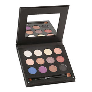 IT Cosmetics® Luxe Anti-Aging High Performance Eye Shadow Palette with Dual Brush