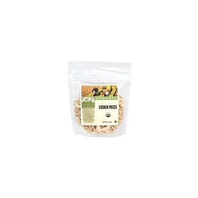 Woodstock Farms Organic Fancy Raw Cashew Pieces, 7 Ounce -- 8 per case.
