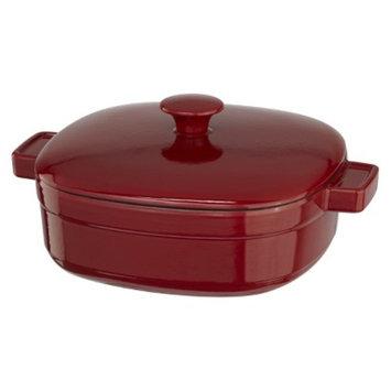 KitchenAid Streamline Cast Iron Casserole - Red (4 Qt.)