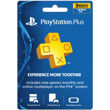 inComm Sony PlayStation Plus 3 Month $17.99