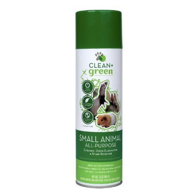Clean Green Clean + Green Cleaner and Odor Remover for Small Animals, 16-Ounce