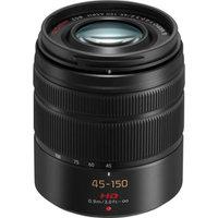 Panasonic Lumix G Vario 45-150mm f/4.0-5.6 OIS Lens for G Series Cameras (Black)