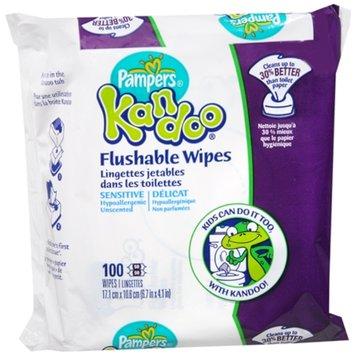 Pampers Kandoo Flushable Wipes