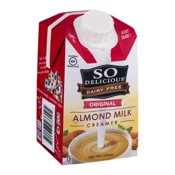 So Delicious Dairy Free Almond Milk Creamer Original