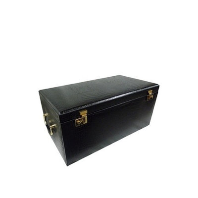 Morelle & Co Large Leather Jewelry Box with Takeaway Case