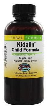 Herbs Etc - Kidalin Child Formula Professional Strength Cherry - 4 oz.