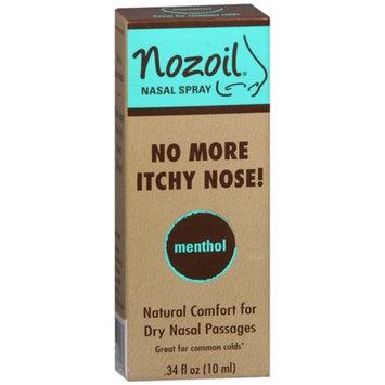 Nozoil Nasal Spray, Menthol, .34 fl oz