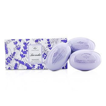 Caswell-massey Caswell Massey Lavendar Bar Soap Set 3x150g/5.2oz