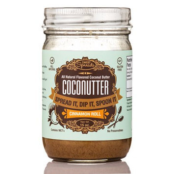 Sweet Spreads Coconutter Flavored Coconut Butter Cinnamon Roll 15 oz