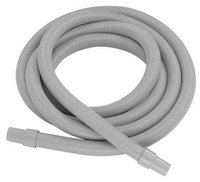 NORTECH N69110 Vacuum Hose, 11/2 In x 10 ft, Gray, Nylon