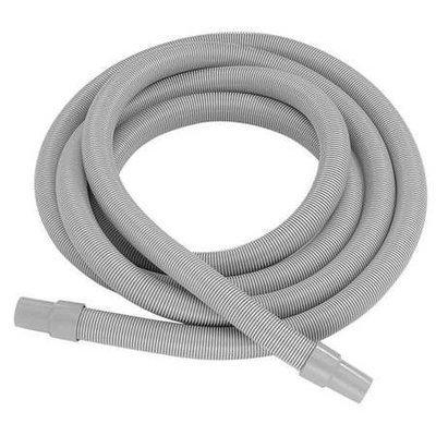 NORTECH N69110 Vacuum Hose, 11/2 In x 10 ft, Gray, Nylon