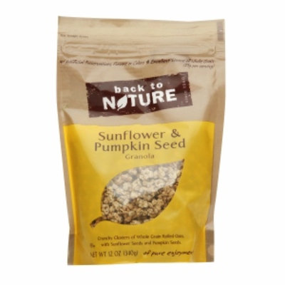 Back to Nature Sunflower and Pumpkin Seed Granola, 11 oz