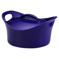 Rachael Ray Round Casserole with Lid - Blue (2.75 Qt)