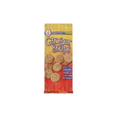 Voortman, Ginger Snap Cookies, 12.3oz Bag (Pack of 4)