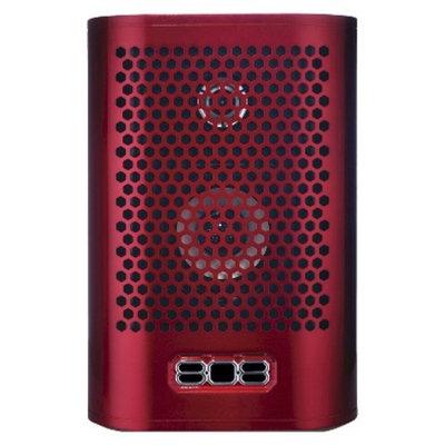 Audiovox Electronics 808 Hex Bluetooth Speaker TL - Red (SP900RD)