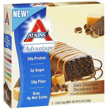 Atkins Advantage Dark Chocolate Decadence Protein Bar