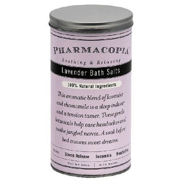 Pharmacopia Bath Salts, Lavendar, 16-Ounces