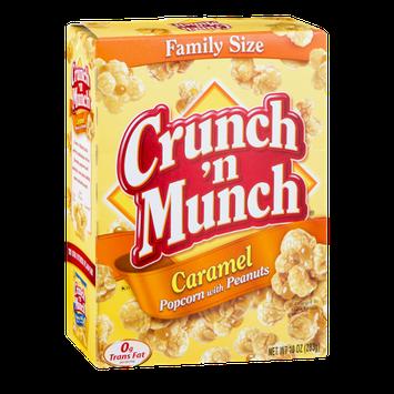 Crunch 'N Munch Popcorn Caramel Popcorn with Peanuts