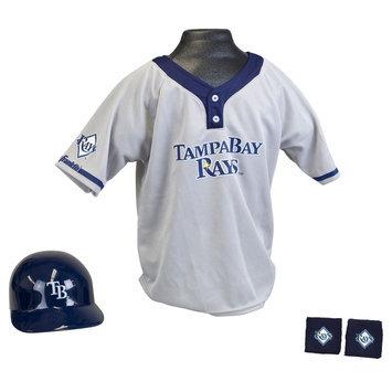 Franklin Sports 15231F30P1Z MLB Rays Kids Team Uniform Set