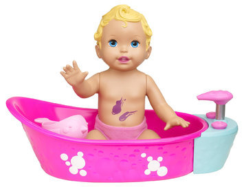Little Mommy Bubbly Bathtime Doll - 1 ct.