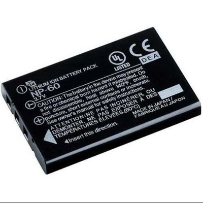 Replacement Battery For Fuji NP60 (Single Pack)