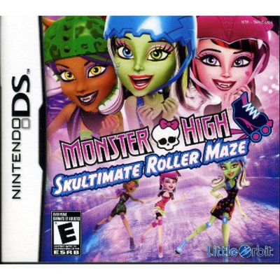 Majesco Monster High: Skultimate Roller Maze (Nintendo DS)