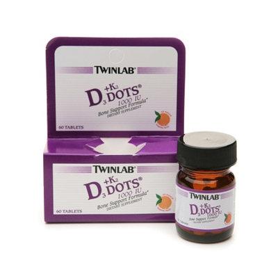 Twinlab Vitamin D3 1000 + K2