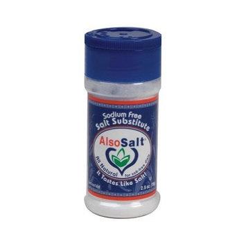 Also Salt Alsosalt Original Flavored Salt Substitute, 2.5 Ounce -- 6 per case.